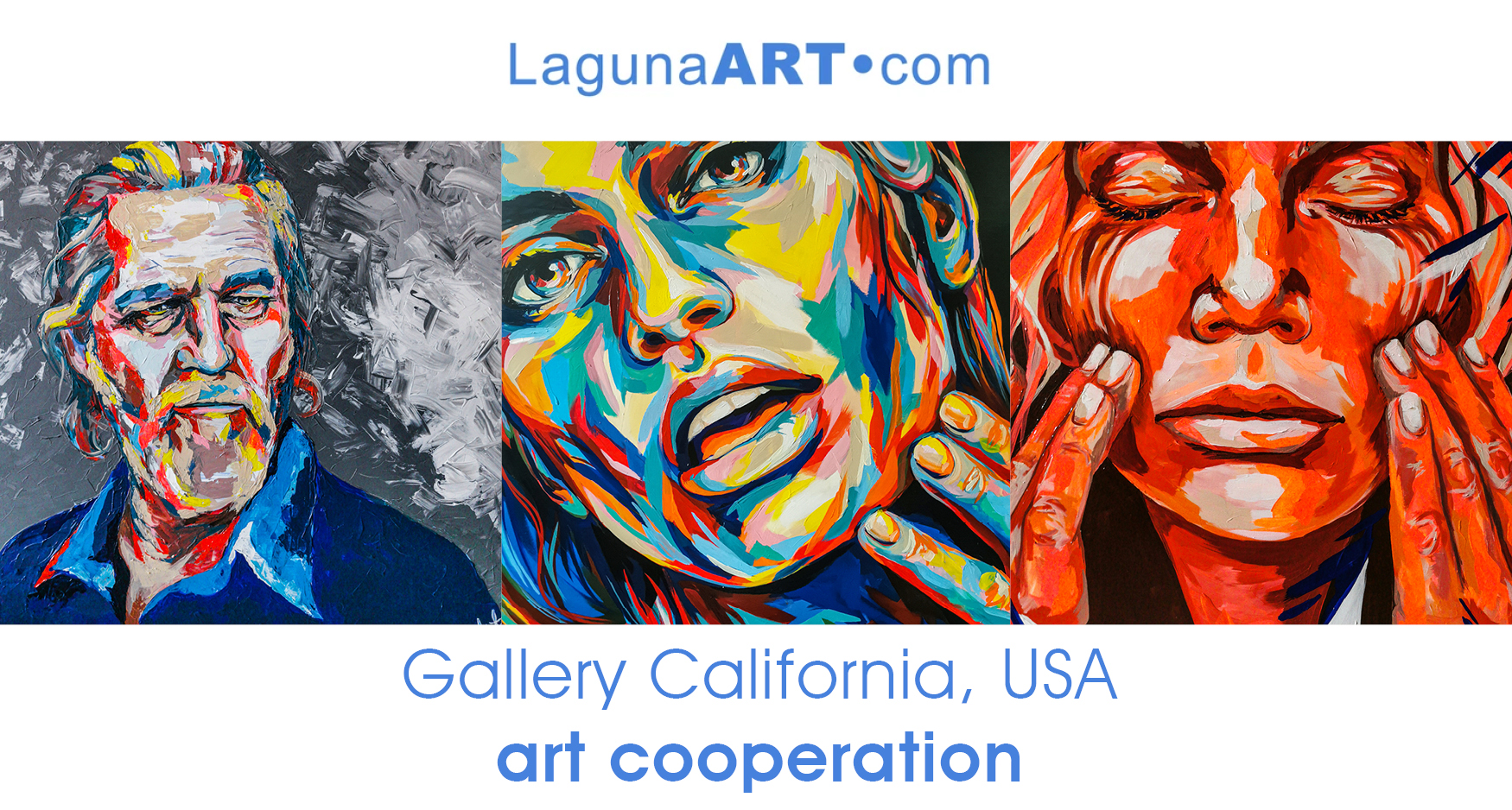 german, art, artist, laguna art, lagungaart, gallery, usa, California, Portraitspaintings, protraits, faces, colourful, Carolyn Mielke, popart, faces, mielke, contemporaryart