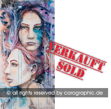 Original, art, carographic, paintings, malerei, cottbus, germany, elisabeth