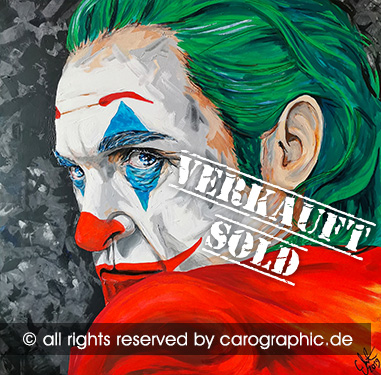 Original, art, carographic, paintings, malerei, cottbus, germany, Joker, 2019, Hollywood, Schauspieler, gesichter, portraits