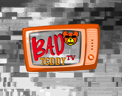 Logo Relaunch bad teddy tv grafik carographic