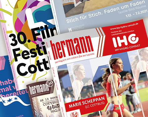 carographic Magazin hermann Layout Satz Design